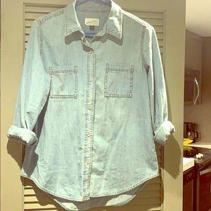 Button down denim shirt. Never worn